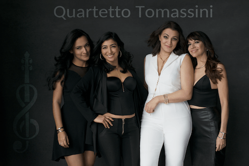 All female Quartetto Tomassini