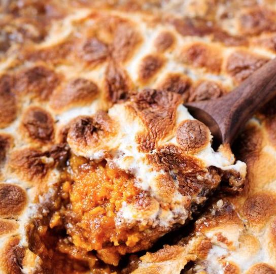 Thanksgiving recipe blog sweet potato casserole