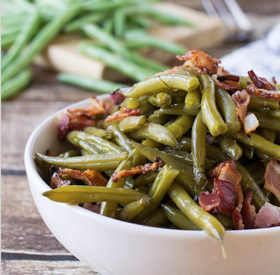 Thanksgiving recipe blog southern style green beans