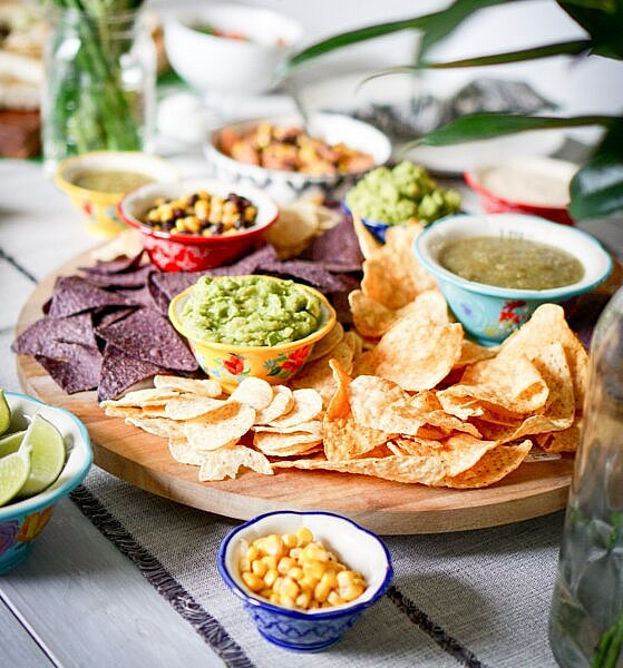 Mexican feast for Cinco de Mayo