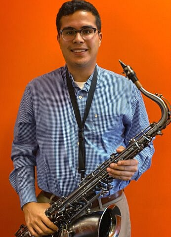 Adam Allen, Woodwinds and Brass teacher at Center Stage