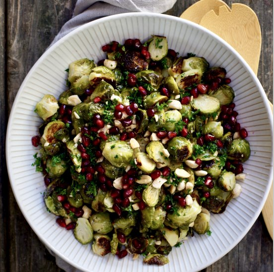 Roasted Brussels Sprouts, Thanksgiving Recipe Blog