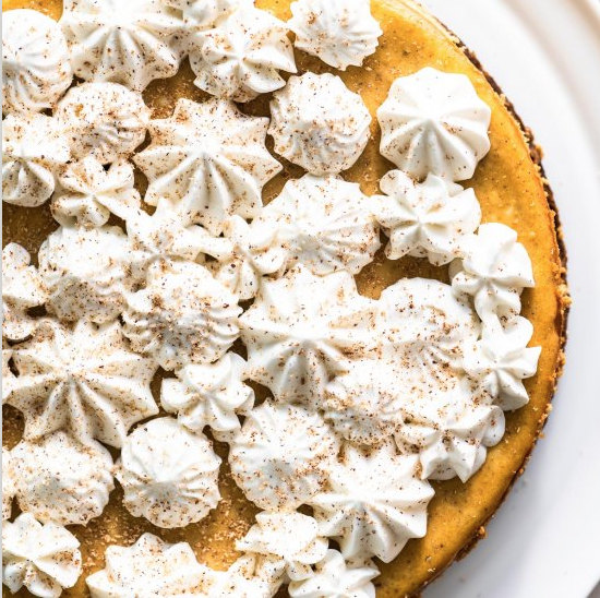 Pumpkin Spice Cheesecake, thanksgiving recipe blog
